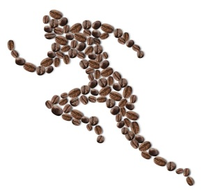 When running on empty, caffeine to therescue!