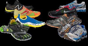 Running shoe variety